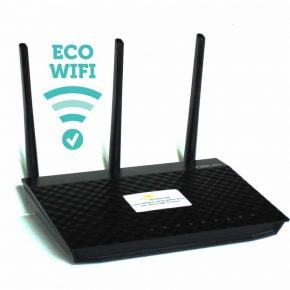 Lavstrålende Wi-Fi router Eco JRS 04AC
